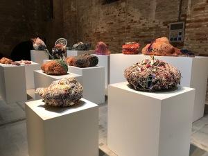 Judith Scott, Biennale de Venise, 2017. Photo: Lucienne Peiry