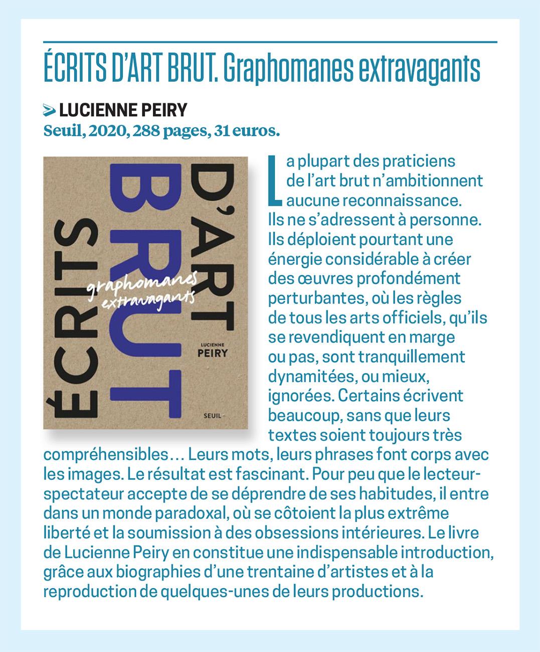 Article paru dans La Revue du praticien, décembre 2020