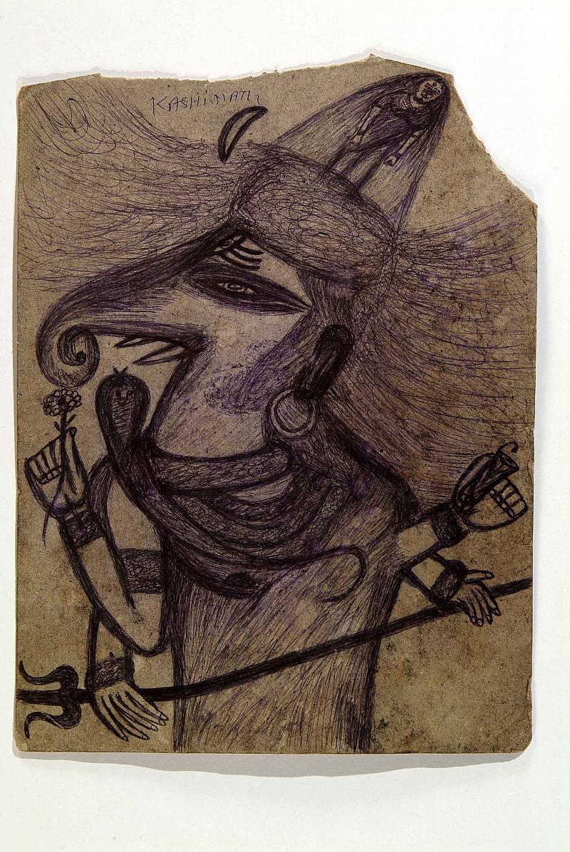 L'auteur d'Art Brut indien Kashinath Chawan présenté sur Espace 2