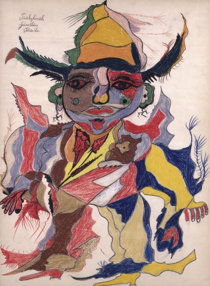«Bonhomme d'Art Brut» évoqué dans Le Temps