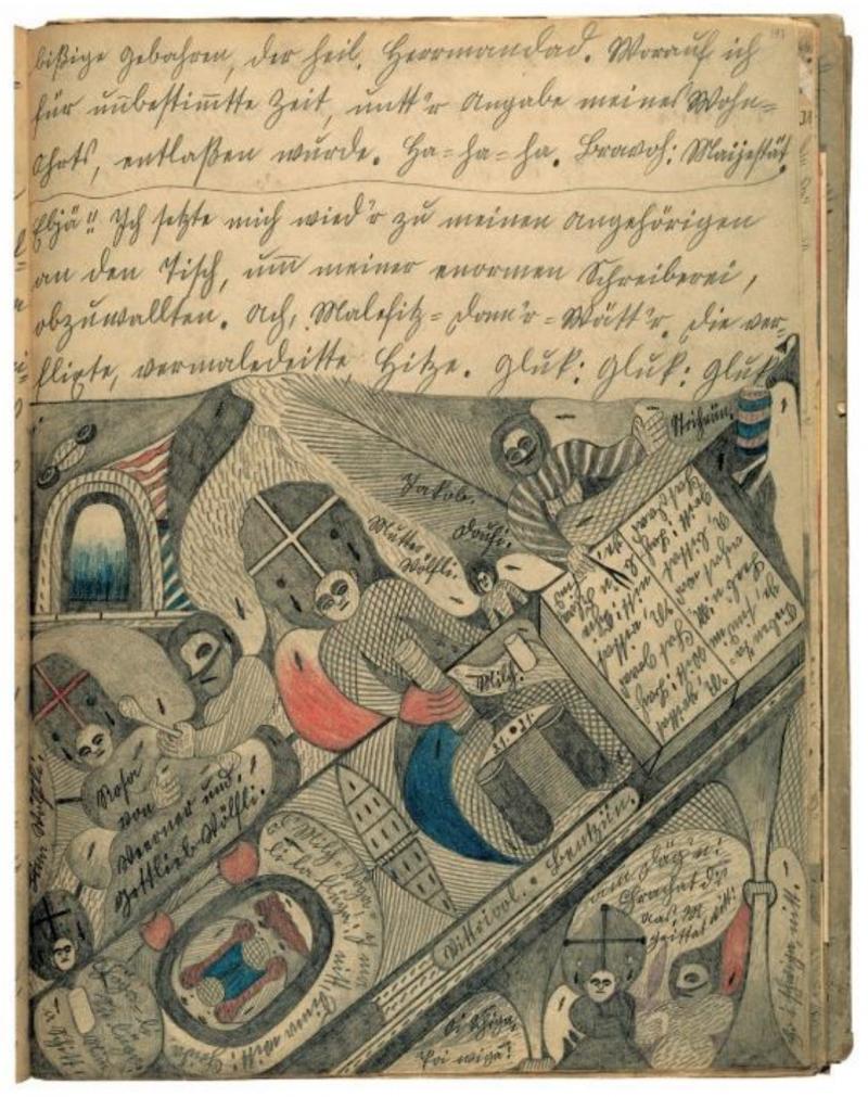 Ecrits d'Art Brut mis en voix à la Fondation Michalski