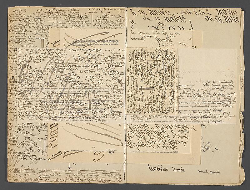 Cahiers écrits, dessinés, inimprimés