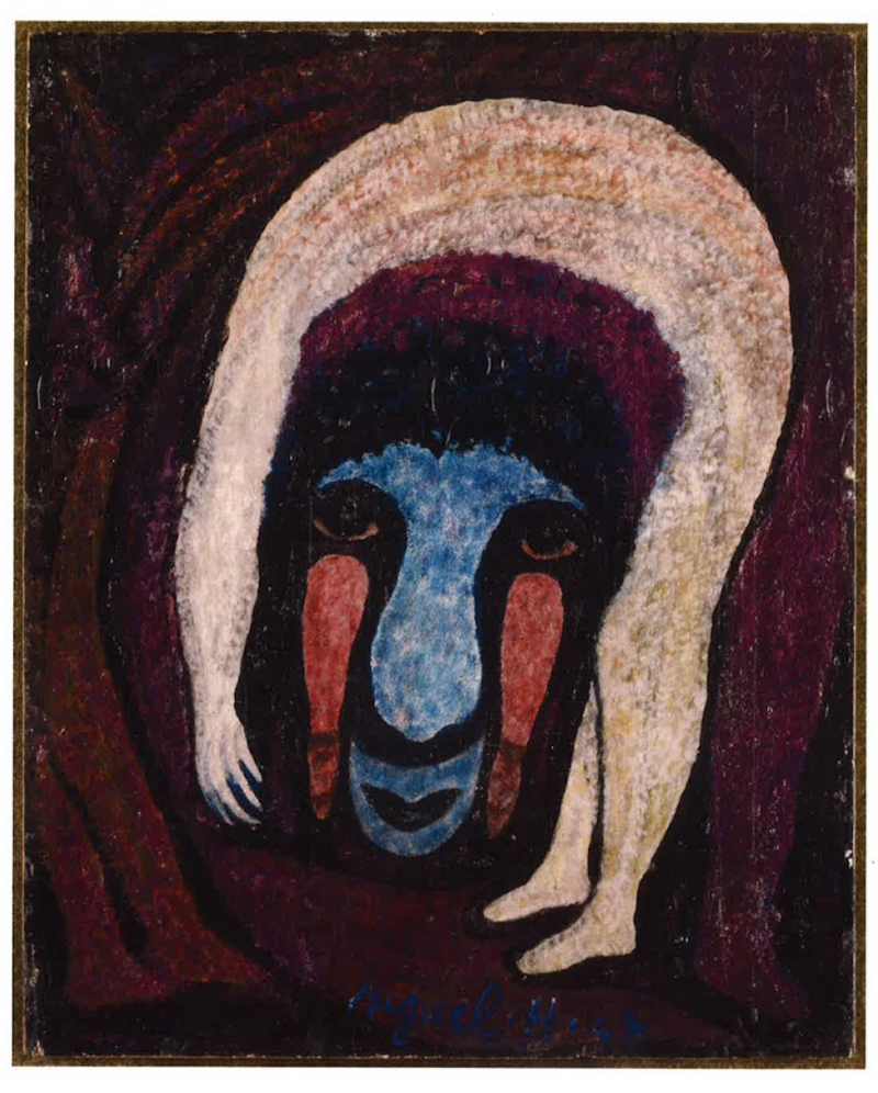 «Bonhomme d'Art Brut» dans la revue Artension