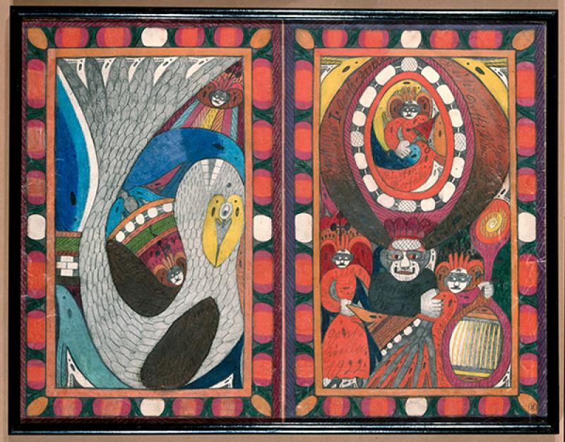 Écrits d'Art Brut au Musée d'ethno