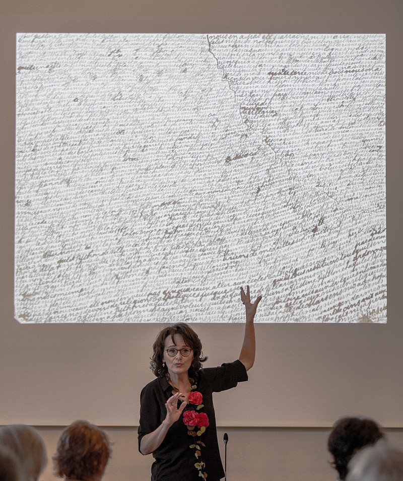 Justine Python présentée à la Fondation Bodmer