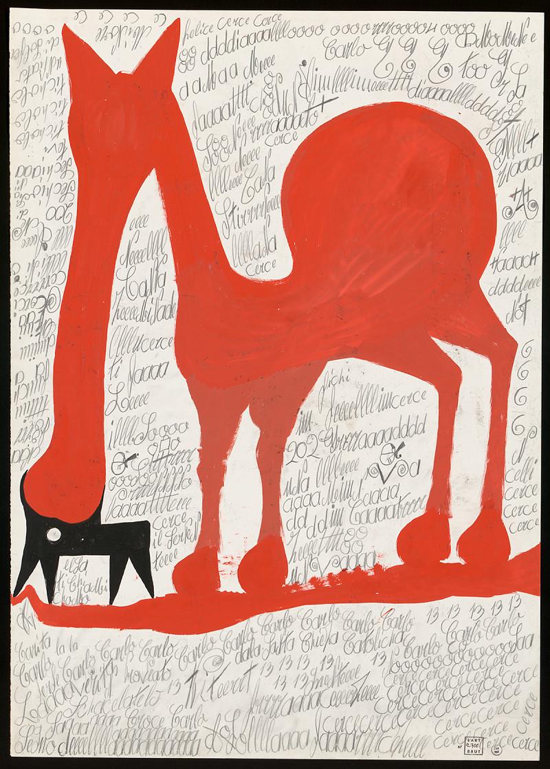 Les écrits d'Art Brut dans «Libération»