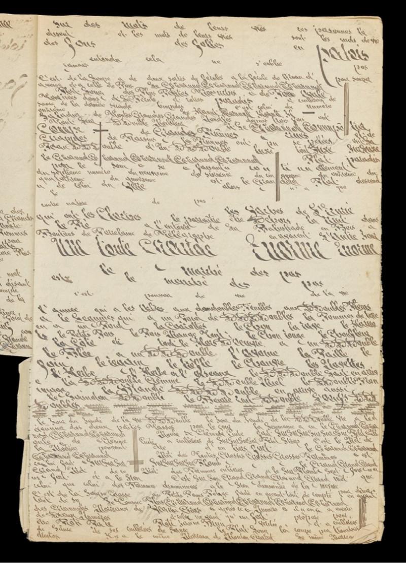 Le magazine «Causette» consacre une double page à l'auteur Constance Schwartzlin-Berberat et le livre «Ecrits d'Art Brut»