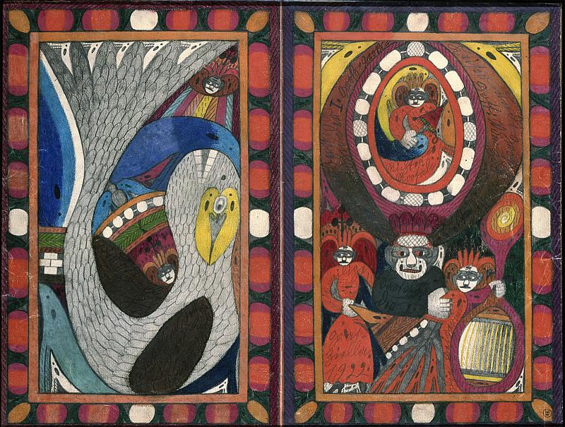 La Baleine Karo et le Diable Sarton 1er: une œuvre d'allure médiévale!