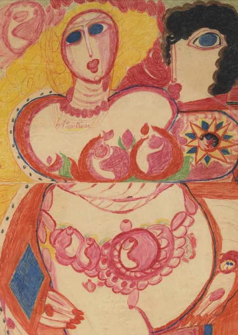 Les seins dans l'Art Brut
