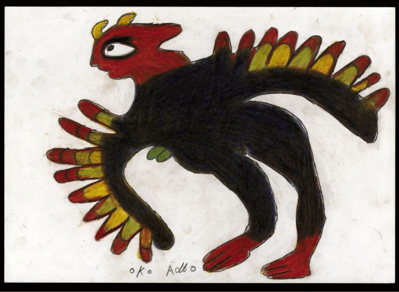 Ataa OKO, créateur de figures fabuleuses