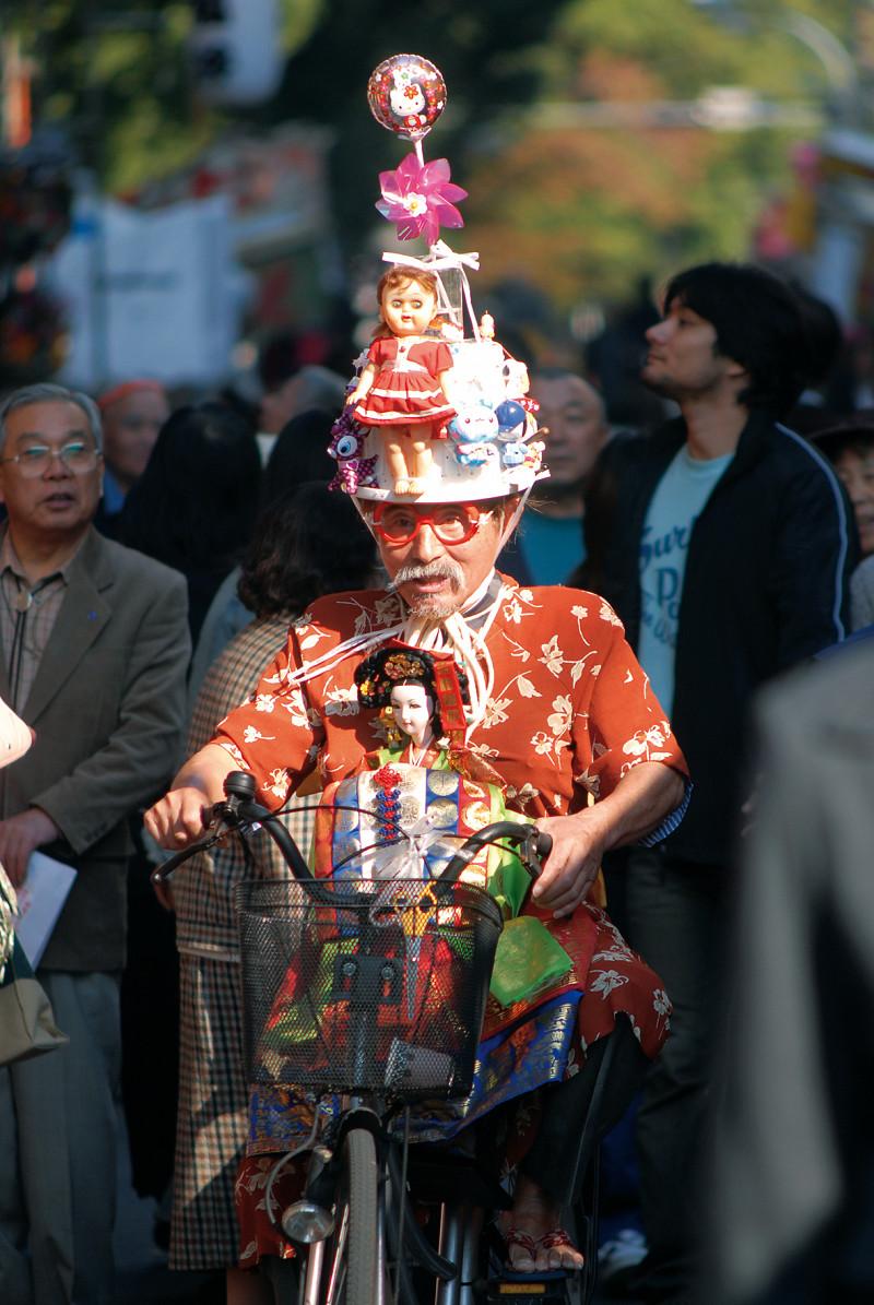 Les extravagances de l'Art Brut dans la rue